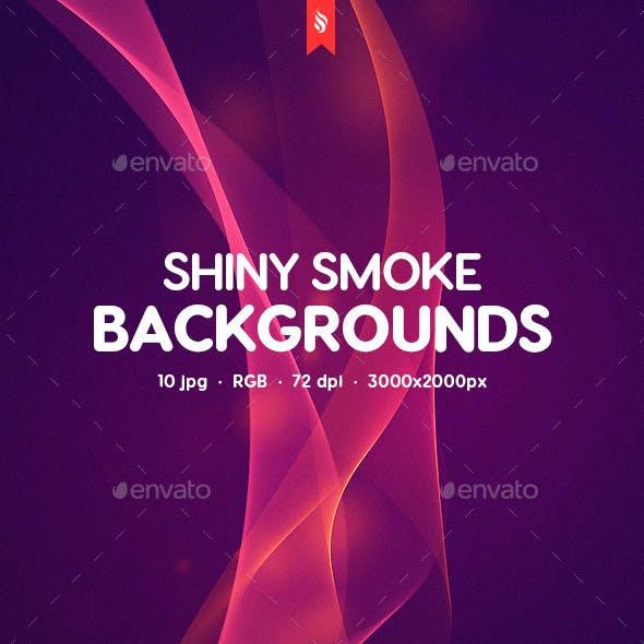 Shiny Smoke Backgrounds