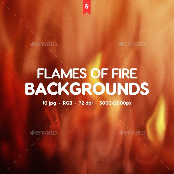 Flames of Fire Backgrounds by themefire