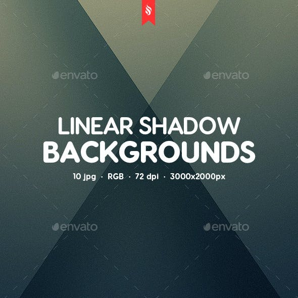 Linear Shadow Abstract Backgrounds
