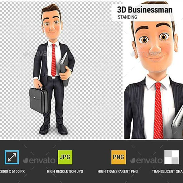 3D Businessman