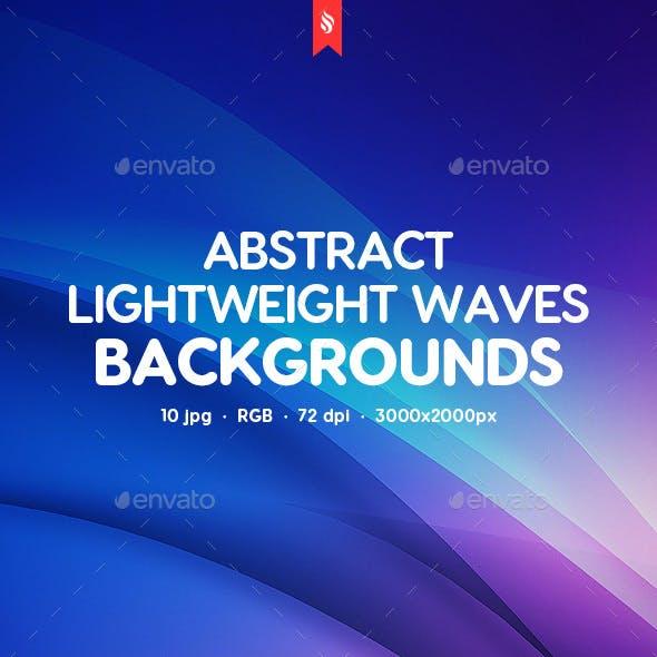 Lightweight Waves Backgrounds