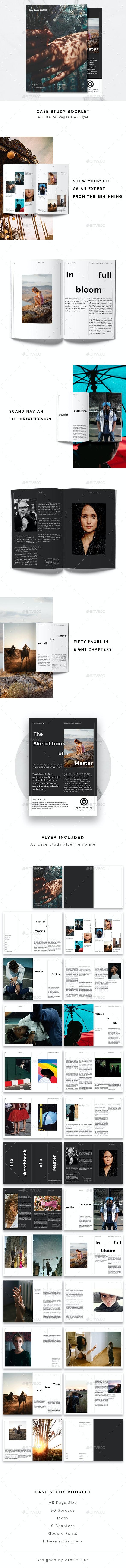Case Study Booklet + Flyer - Informational Brochures