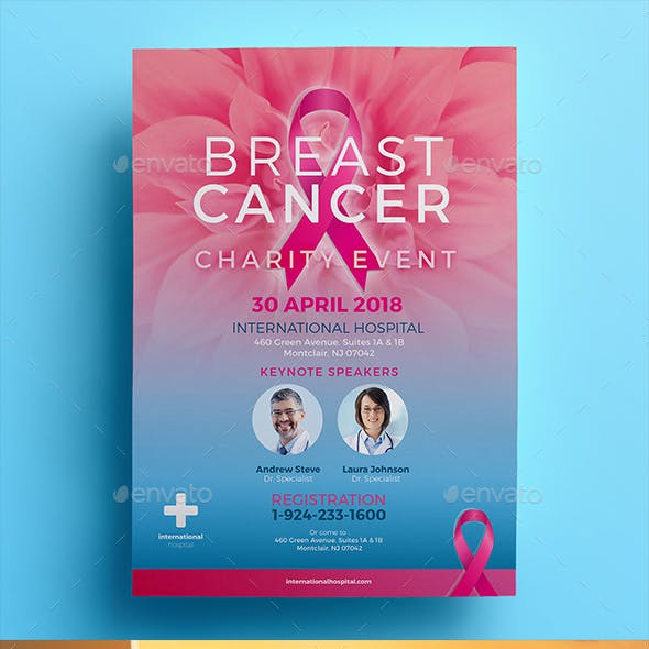 Breast Cancer Charity Flyer 02