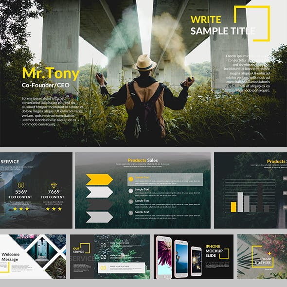 Vindes - Creative Powerpoint Template