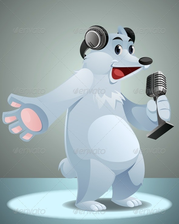 Radio Bear - Animals Characters
