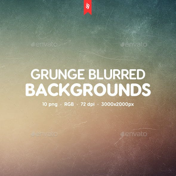 Grunge Blurred Backgrounds