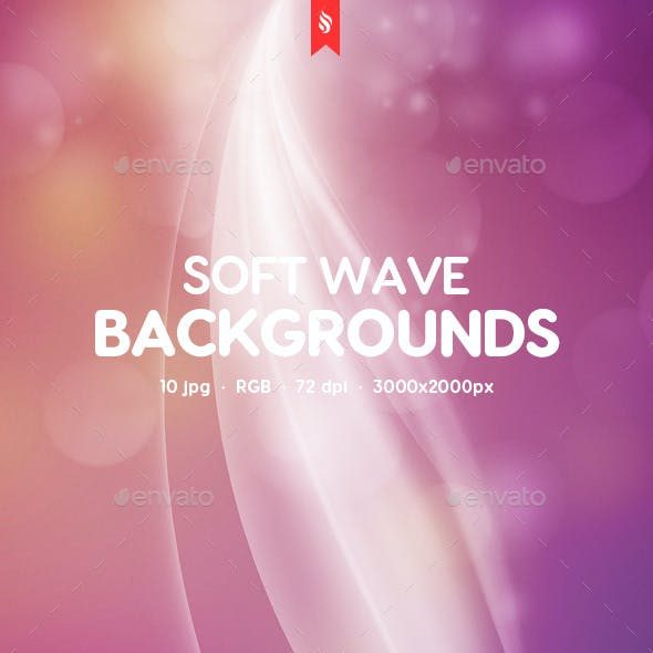 Abstract Soft Wave Backgrounds