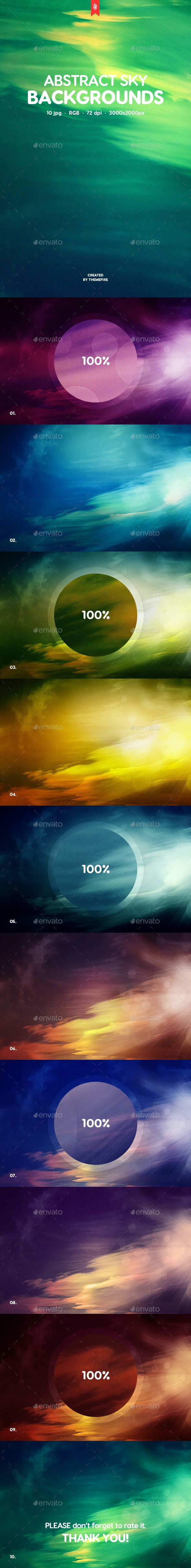 Sky Backgrounds - Abstract Backgrounds