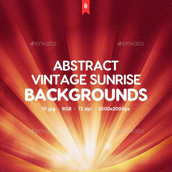 Vintage Sunrise Backgrounds