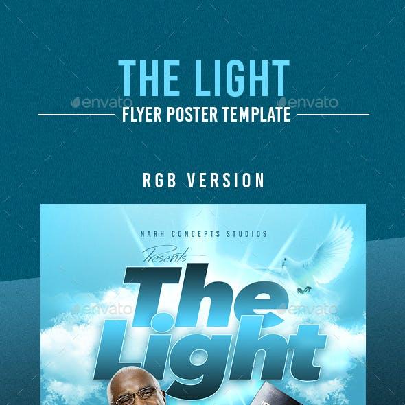 The Light Flyer Template