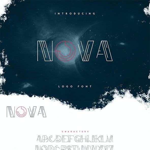 Nova - Logo Font