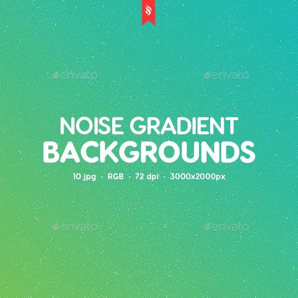 10 Noise Gradient Backgrounds