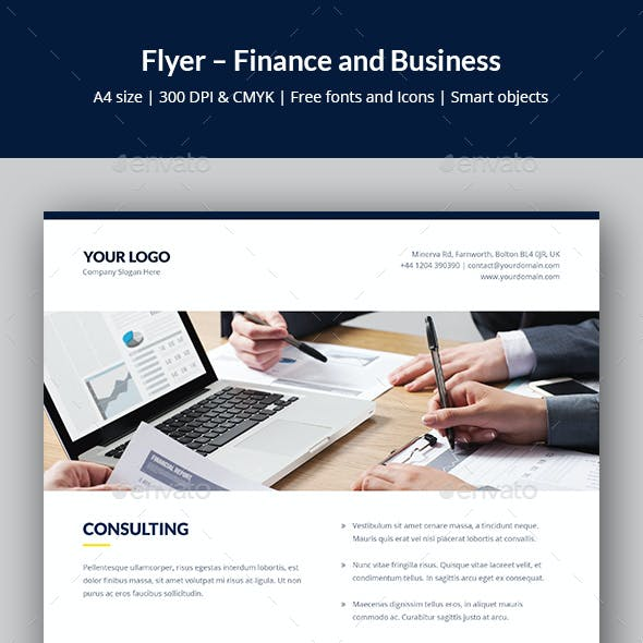 Flyer – Finance and Business Multipurpose