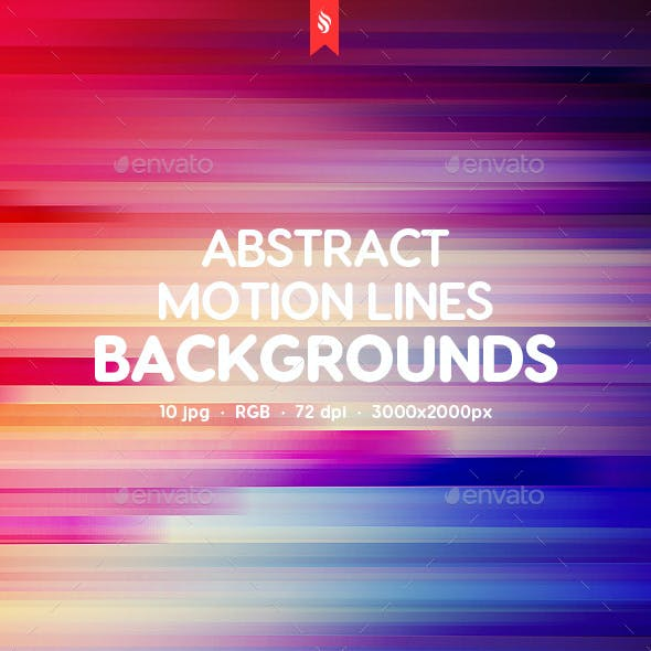 Motion Lines Backgrounds
