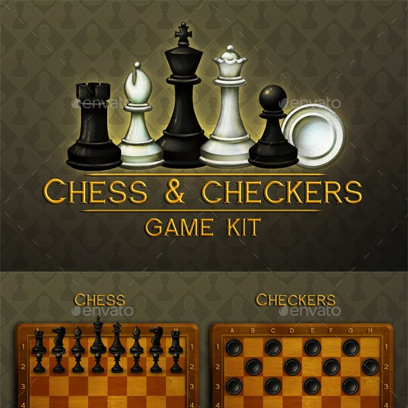 Chess and Checkers Game Assets