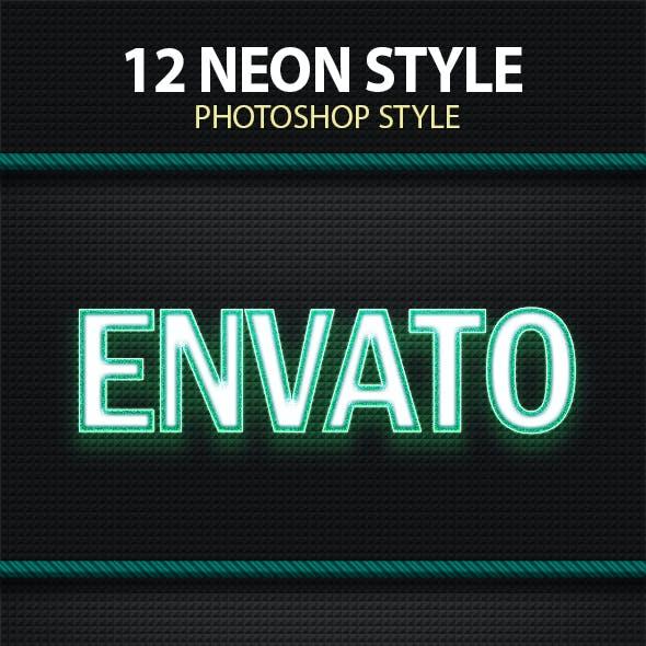 12 Neon Style