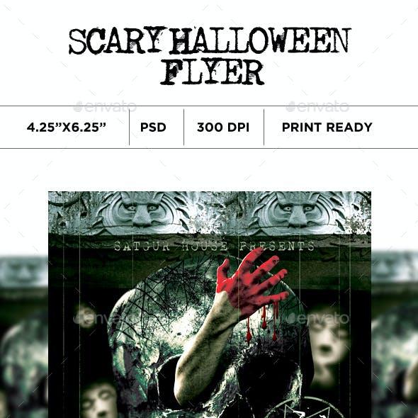 Scary Halloween Flyer