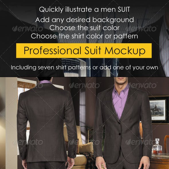 Suit Mock-up Multi-Sided