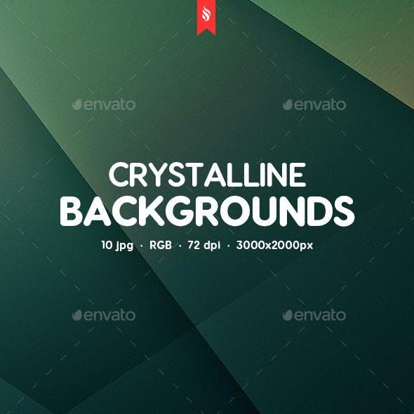 Crystalline Backgrounds