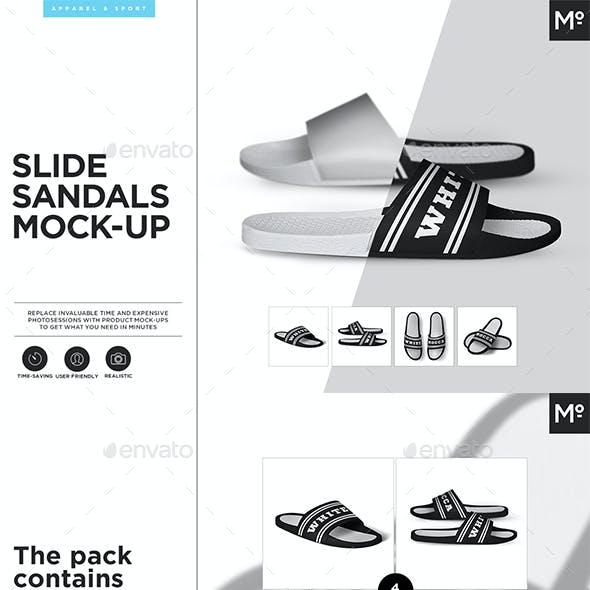 Slide Sandals Mock-up