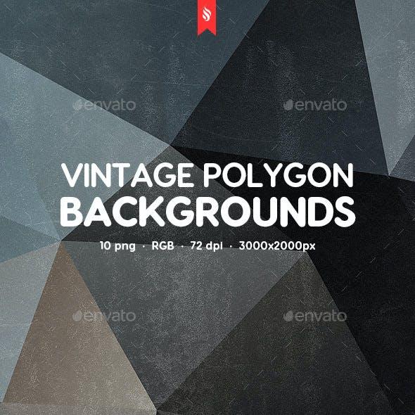 Vintage Polygon Backgrounds