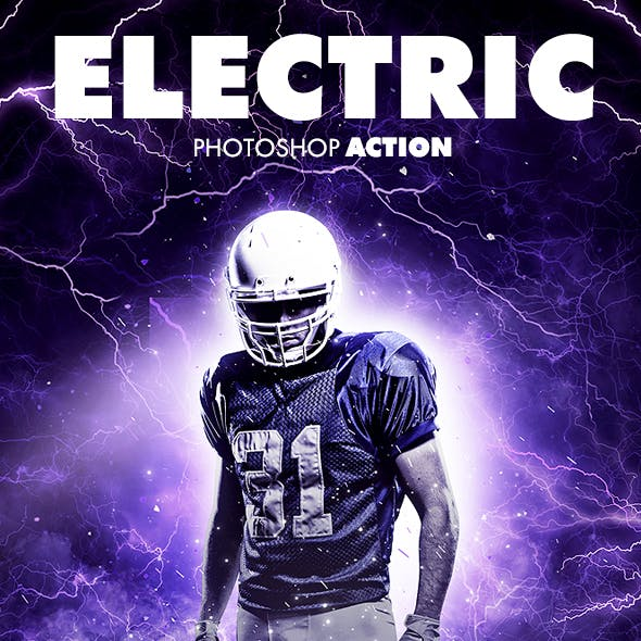Electric Photoshop Action