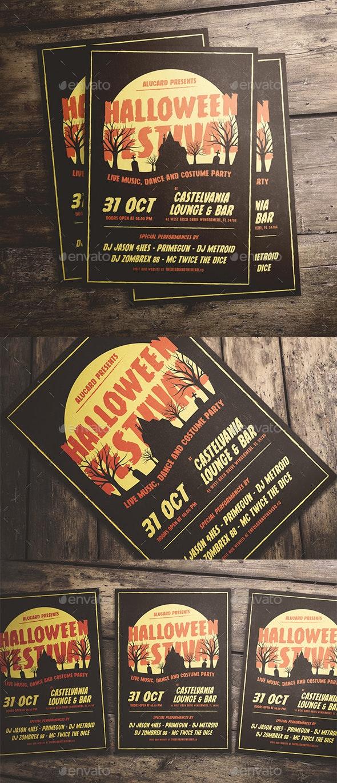 Halloween Festival Flyer - Events Flyers