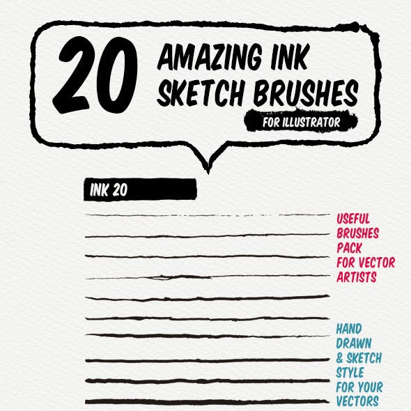Inking and Line Graphics, Designs & Templates from GraphicRiver