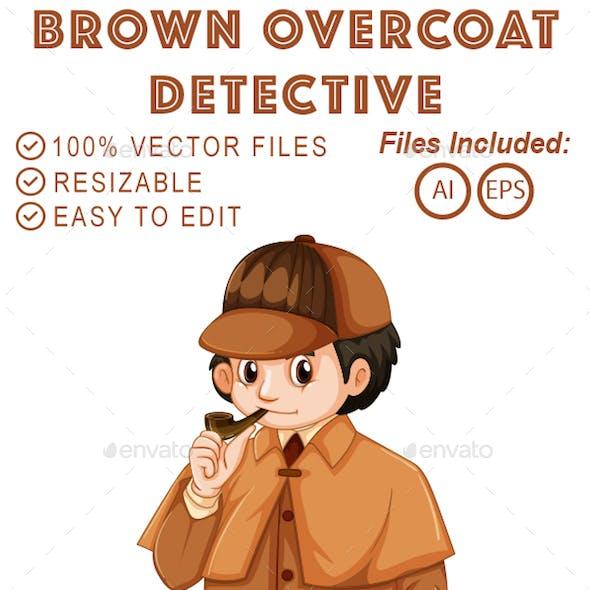 Brown Overcoat Detective