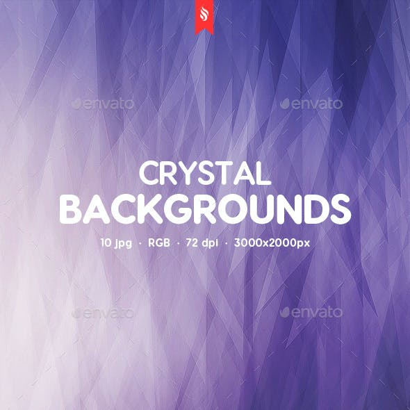 10 Crystal Backgrounds
