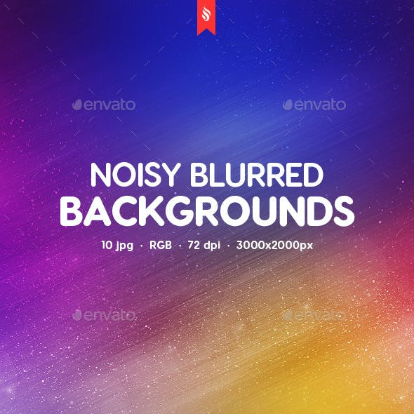 Noisy Blurred Backgrounds
