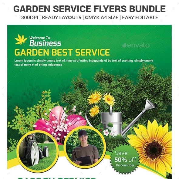 Garden Services Flyers Bundle