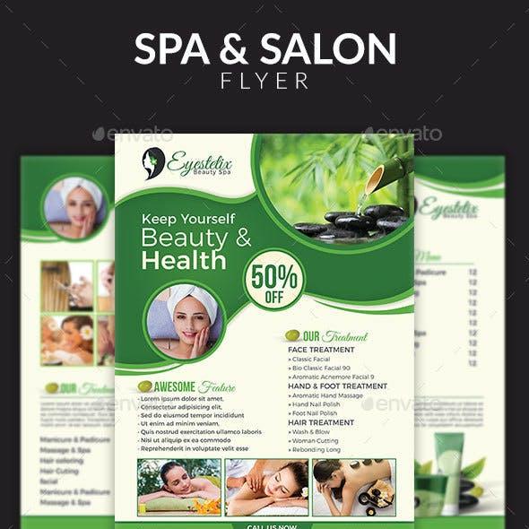 Salon & Spa Promotion Flyer