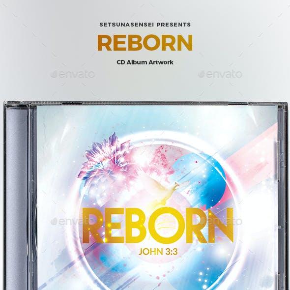 Reborn CD Album Artwork