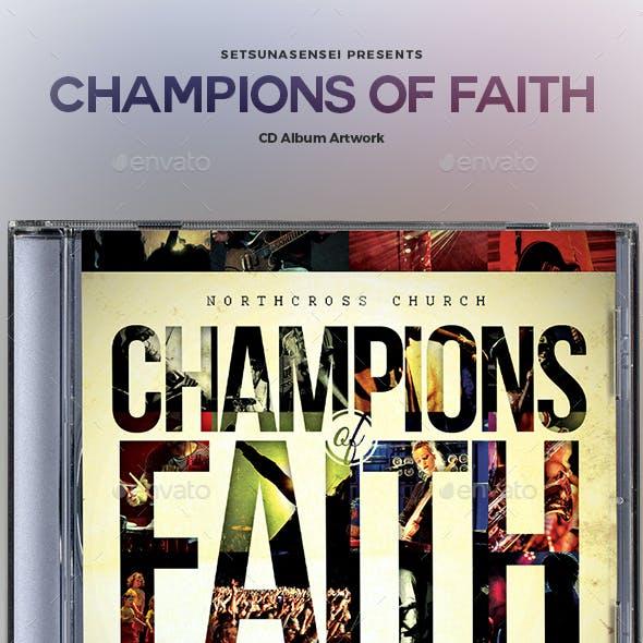 Champions of Faith CD Album Artwork