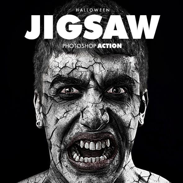 Jigsaw Halloween Action