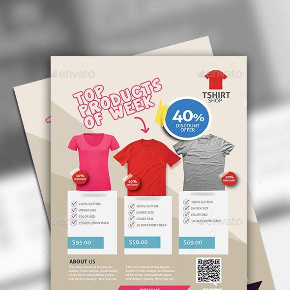T-Shirt Flyer Design