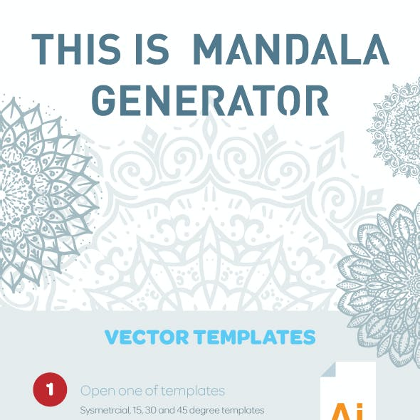 Mandala and Face Generator