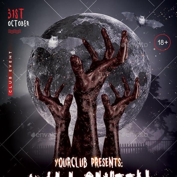 Halloween - PSD Flyer Template