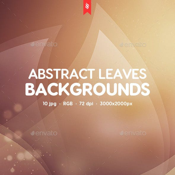Abstract Leaves Backgrounds