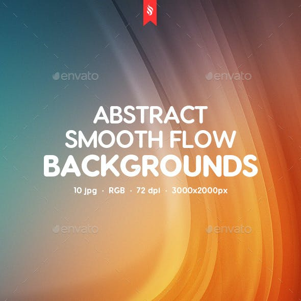 Smooth Flow Backgrounds