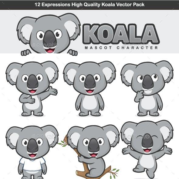Koala Mascot Character