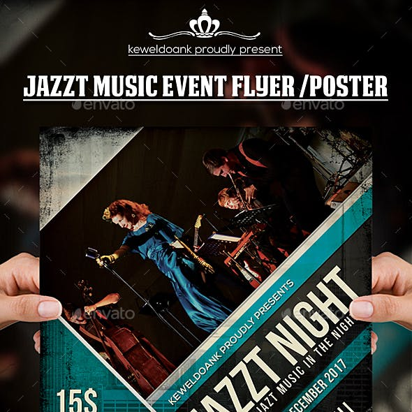 Jazz Music Concert Flyer / Poster