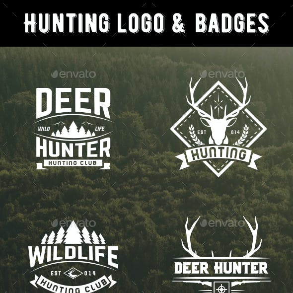 10 Hunting Logo and Badges