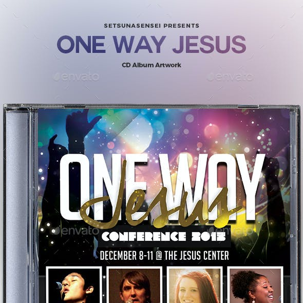 One Way Jesus CD Album Artwork