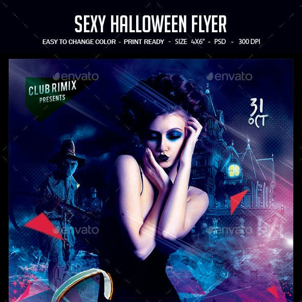 Sexy Halloween Flyer