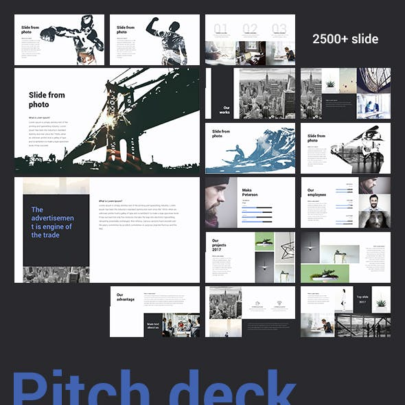 Pitch Deck Minimal Keynote Template