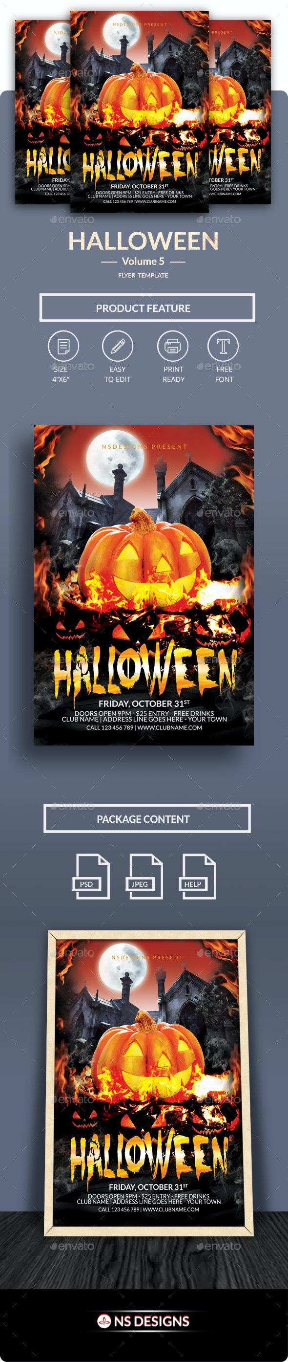 Halloween Flyer Vol.5 - Clubs & Parties Events