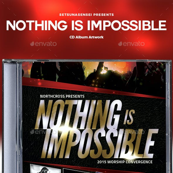 Nothing Is Impossible CD Album Artwork