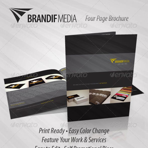 Brandif - Four Page Brochure